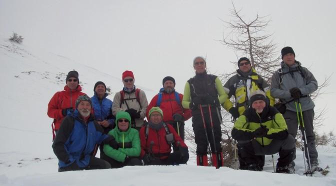 Quota 2.200 m sul Monte Pagano