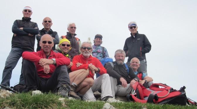 Monte Madonnino 2502 m 13/05/15