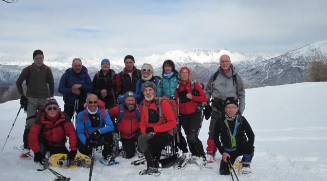 Il monte Stivo m 2054 (non raggiunto)