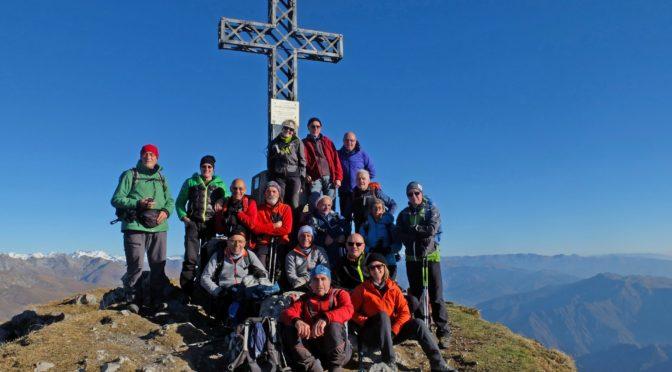 Monte Alben m 2010 e Cima Croce m 1978