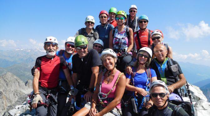 Sentiero dei Fiori, Cima Payer m 3054 e Cima Presena m 3068